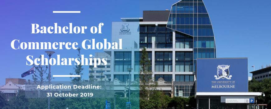 Học Bổng Bachelor of Commerce Global tại The University of Melbourne, Úc